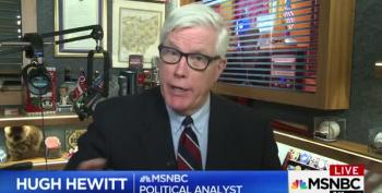 Are Hugh Hewitt's Claims About Sean Hannity And Michael Cohen The Most Moronic?