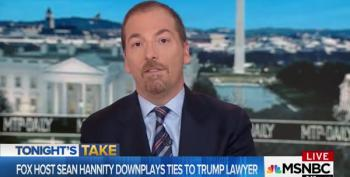 Chuck Todd Blasts Hannity And 'Lackey' Jeffrey Lord For Trying To Smear Him And His Wife