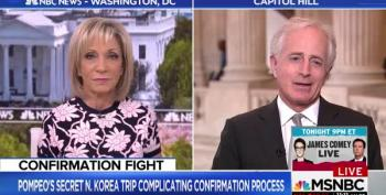 Sen. Corker Says Democrats Should Stop Obstructing Pompeo Nomination