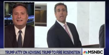Ron Klain Explains Why Michael Cohen 'Flipping' Isn't The Point