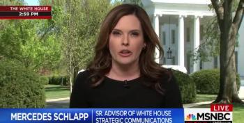 Ali Velshi Reaches Over Kristen Welker To Slap Schlapp's Lie Back