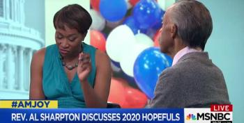 Rev. Sharpton Talks To Joy About 2020 Presidential Candidates