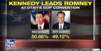 Mitt Romney Fails To Win GOP Nomination For U.S. Senate