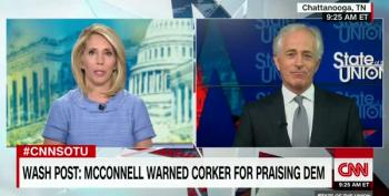 Bob Corker's Hilariously Tepid Endorsement Of Marsha Blackburn