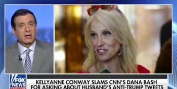 Howard Kurtz Defends Kellyanne Conway's Right To Never Be Embarrassed By Her Husband