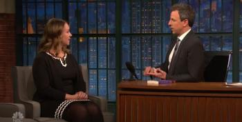 Sarah Kendzior Graces Seth Myers With 9 Straight Minutes Of Brilliance