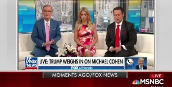 Oops! Trump Slips, Admits Cohen Represented Him In Fox & Friends Rant