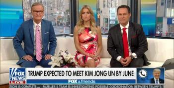 Trump Brags That We're 'Doing Very Well With North Korea'