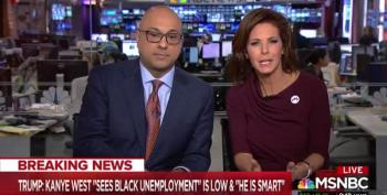 Stephanie Ruhle Calls Out Hugh Hewitt's Trump Bootlicking On Air