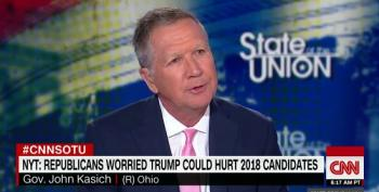 Jake Tapper Allows John Kasich To Pretend Democrats Don't Stand For Anything
