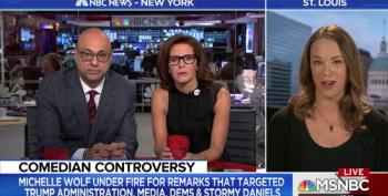 Velshi And Ruhle Doth Protest Too Much: Sarah Kendzior On WHCD
