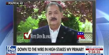 Don Blankenship Wants To Beat 'Cocaine Mitch'?