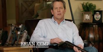 Brian Kemp Campaign Ad Goes Too Far. Even For Gun Nuts.
