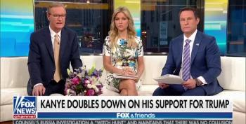 Fox And Friends Giggle With Joy Over Kanye West's 'Trump Is My Boy' Remarks