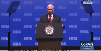 Mike Pence Is Going To Hell For His NRA Speech