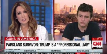 Cameron Kasky: Trump Is A Professional Liar