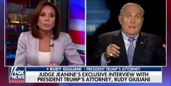 Rudy Giuliani Tries To Clean Up Prior Appearances On Fox On Pirro's Show