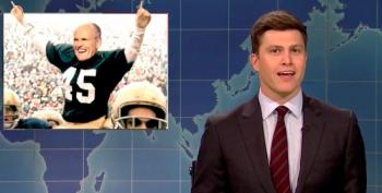 SNL Weekend Update Mocks Giuliani's 'Kings Of Dementia Comedy Tour'