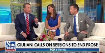 Fox Hosts Give Credence To Giuliani's Claim Judge May Shut Down Entire Mueller Probe