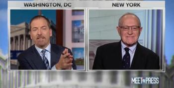 Dershowitz, Trump's Newest Snowflake, Whines Family Is Horrified Over His Trump Defense