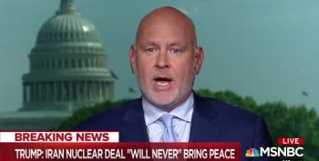 Steve Schmidt Unloads On Trump's Decision To Pull Out Of Iran Deal