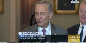 Schumer Decries 'Mulvaney Wing' Of GOP Wanting CHIP Cuts