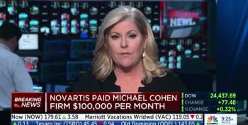Novartis Comes Clean, Admits Paying Michael Cohen $1.2 Million To Avoid Angering Trump