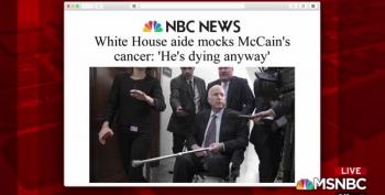 'He's Dying Anyway': Trump White House Staffer Dismisses John McCain