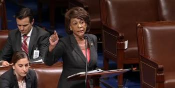 Maxine Waters Will Not Yield To MAGA Spouting Congressman
