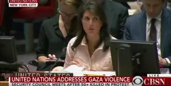 Nikki Haley: Opening Of US Embassy Had Nothing To Do With Gaza Violence