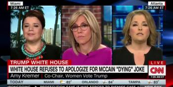 Trump Apologist Bashes Cancer-Ridden John McCain For Not Tweeting Melania
