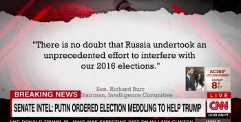 Senate Intel Leaders: Putin Tried To Help Trump Win 2016 Election