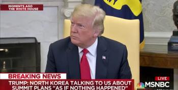 Trump Tries To Save North Korea Summit (And John Bolton) By Blaming China's President