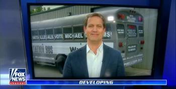 GOP Candidate Michael Williams And His 'Deportation Bus' Get Warm Welcome From Fox News