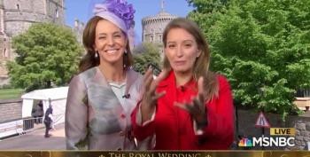 Stephanie And Katie At The Royal Wedding