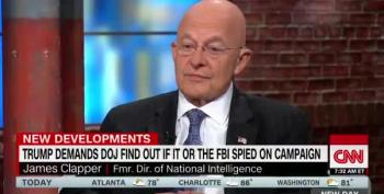 James Clapper: Trump's Demand Is Politicizing Legitimate Activity