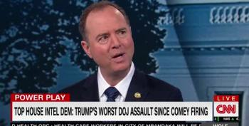 Rep. Adam Schiff Sounds Alarms About Trump's Assault On DOJ And Rule Of Law