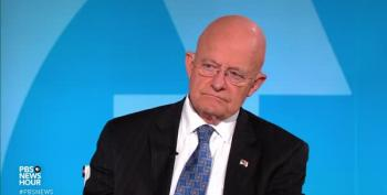 James Clapper Questions Trump's Presidential Legitimacy