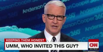 Anderson Cooper Slams Trump Lawyer For Crashing Intel Meeting