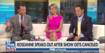 Fox And Friends Rushes To Roseanne's Defense