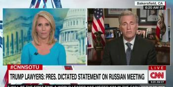 Dana Bash Corners Republican Majority Leader: 'You Don't Want To Answer The Question About The Lies'