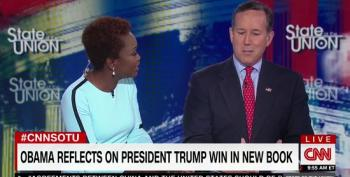 CNN's Santorum Accuses President Obama Of Being The Real Racist