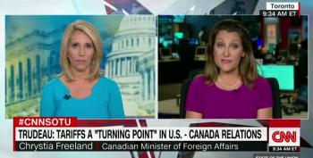 Canada's Foreign Affairs Minister On Trump's New Tariffs: 'Seriously?'