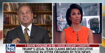 Harris Faulkner Loses It When Dem Rep Says We've Already Seen Evidence Of Collusion In Mueller Probe