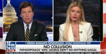 George Papadopoulos' Wife Runs To Fox To Beg Trump For A Pardon