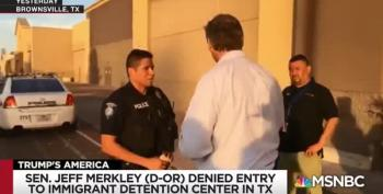 Senator Merkley Describes Child Detention Centers