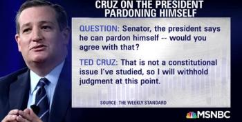 Trump Pardon Himself? Ted Cruz Takes 18 Seconds To Answer