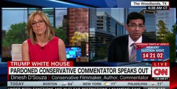 CNN's Alisyn Camerota Smacks Dinesh D'Souza Over His Trump Hypocrisy And Phony Values
