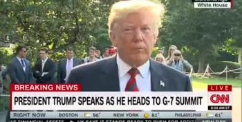 Trump: 'Why Are We Having A Meeting Without Russia?' Um, Because They Annexed Crimea?