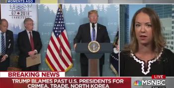 MSNBC Pundit Shocked By Trump G7 Presser: He 'Is Not Working For The United States'